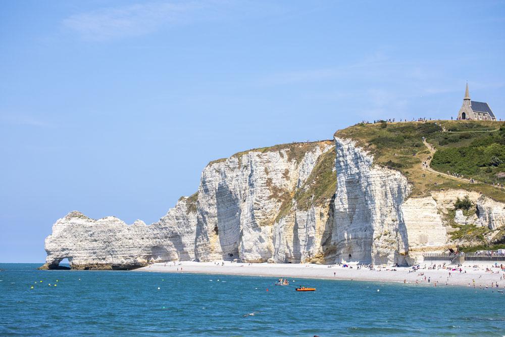 Stranden vid Le Etreta't
